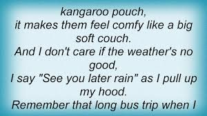adam sandler hooded sweatshirt lyrics