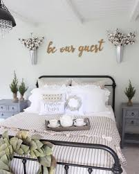 guest bedroom decor see this instagram photo by prettypeachtree 210 likes farmhouse