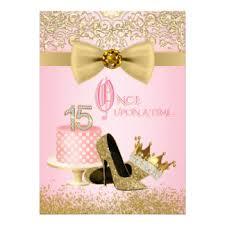 15th birthday invitations u0026 announcements zazzle