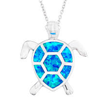 blue opal necklace opal turtle jewelry opal turtle jewelry suppliers and