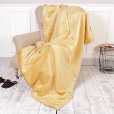 Fox Fur Blanket Rich Champagne Faux Fur Throw By Dibor Notonthehighstreet Com
