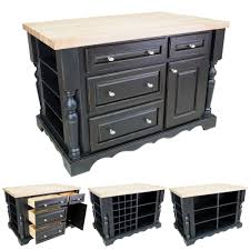 distressed black kitchen island black kitchen island with drawers isl02 dbk