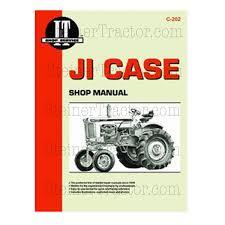 c202 i u0026 t shop service manual