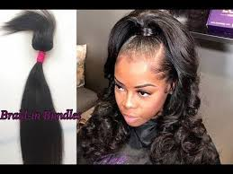 no part weave hairstyles the 25 best braid in bundles ideas on pinterest black hair