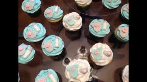 diy baby shower cupcake toppers onesies pacifiers u0026 bottles