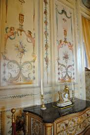french painted panels villa ephrussi de rothschild painted