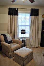 drop cloth curtains horizontal striped walls for diy del ray