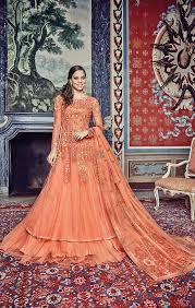 wholesale catlaog of wedding anarkalis latest designer wear collection