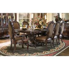 Dining Room Table Sets Leather Chairs by Dining Room Extraordinary Image Of Dining Room Decoration Using