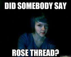 Rose Memes - 4chan rose memes quickmeme