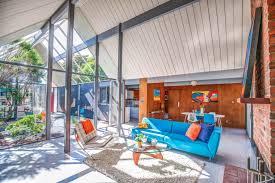 a frame homes sunnyvale eichler with double a frame atrium asks 1 78 million