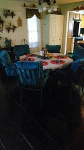 chagne chair covers kitchen from blah to wow chair covers change the mood