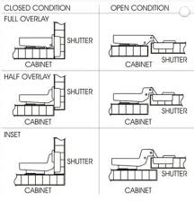 Cabinet Hinge Overlay Ebco Slip On Hinges Overlay Ss 304 Hs1 Ss Set Of 2 Pcs Knobskart