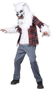 Kids Godzilla Halloween Costumes White Lycan Werewolf Kids Costume Costume Craze