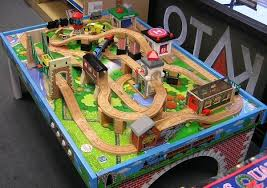thomas the train wooden track table thomas train table track design learninggirls pinterest thomas