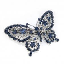 butterfly hair clip blue butterfly hair clip hairpin buy 70 discount