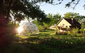 stunning geodesic domes from romania can handle earthquakes up to geodesic domes romanian dome home romania dome home 8 5 richter scale biodome