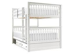Bunk Bed With Storage Kids Bunk Beds Twin Over Twin Twin Over Full U0026 Full Over Full