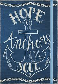 Chalkboard Love And Hope Anchors - com studio oh compact deconstructed journal hope