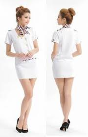 Halloween Flight Attendant Costume Flight Attendant Stewardess Ol Hostess Uniform Dress Women Costume