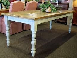 farm style rectangular tables french country farm dining room