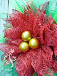 poinsettia wreath tutorial trendy tree decor