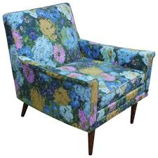 Milo Classic Leather Lounge Chair Fabulous Floral Mid Century Modern Lounge Chair