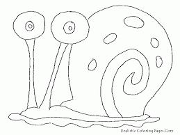 spongebob squarepants gary coloring pages kids coloring