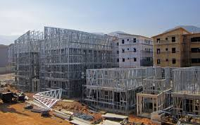 light gauge steel frame prefab construction and materials platform
