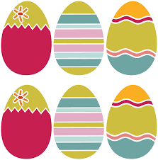 easter egg templates in color u2013 happy easter 2017