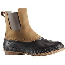sorel cheyanne ii chelsea men u0027s waterproof winter boots