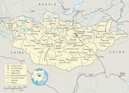Taiwan Map Asia by Mongolia Map Ulaanbaatar Asia