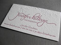 40 embossed business cards unique business cards