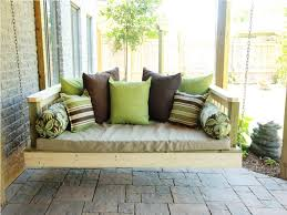 outdoor daybed plans