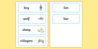 village town references the boy who cried wolf aesop s fables the boy who cried wolf primary page 3