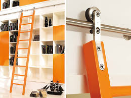 image result for library ladder rollers outhouse project