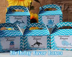 Birthday Favor Boxes by Birthday Favor Boxes Etsy