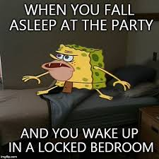 Spongebob Internet Meme - caveman spongebob in barracks memes imgflip