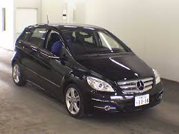 mercedes b class 2009 2009 mercedes b class b170 limited black japanese used cars