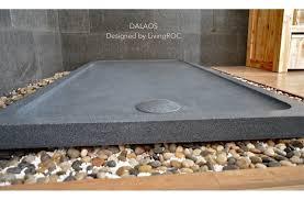 72 x36 shower base pan dalaos gray granite living roc