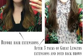 great lengths hair extensions ireland my experience with hair extensions make up