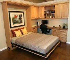 Wall Mounted Folding Bed Side Folding Murphy Bed Fold Bunk Full Size Steel Frame Not Wall