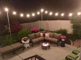 Diy Patio Lights by Restlessrisa Outdoor Yard Lights For Under 150