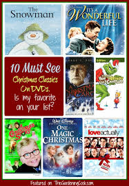 christmas list dvd 10 must see christmas classics dvds the gardening cook