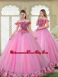 gown style dresses new style 2016 the shoulder quinceanera gowns in multi color