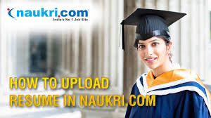 Best Sites To Upload Resume by How To Upload Resume In Naukri Com Apply Job In Naukri Com In