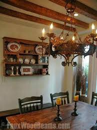 Fake Ceiling Beams by 34 Best Design Ideas Dining Rooms With Faux Wood Beams Images On