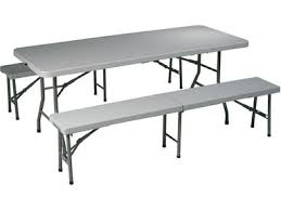 Folding Table And Bench Set Home Office Tables Four States Furniture Texarkana Tx Hope Ar