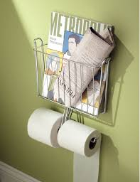 Bathroom Wall Magazine Rack 23 Best Bathroom Magazine Rack Ideas To Save Space In 2017