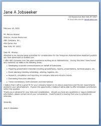Cover Letter Administrative Assistant Template Resume Writer Program Weller Resume Cheap